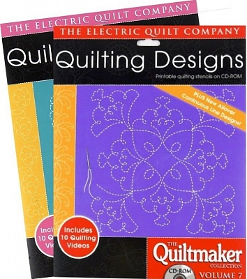 ELECTRIC QUILT НАБОР ДИЗАЙНОВ ДЛЯ КВИЛТИНГА QUILTMAKER COLLECTION Volume 5