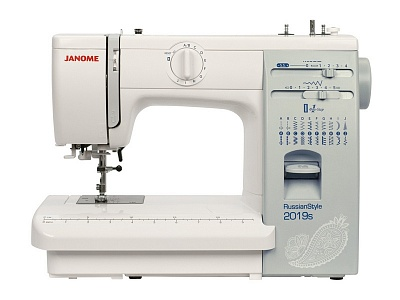 JANOME RussianStyle 2019s